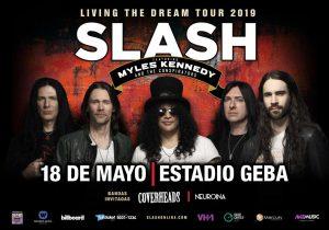 ¡Participá del concurso y gana entradas para ver a Slash!