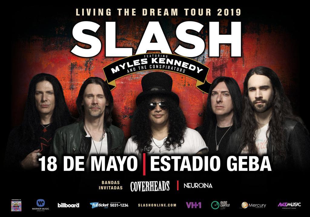 ¡Participá del concurso y gana entradas para ver a Slash! - Radio Cantilo