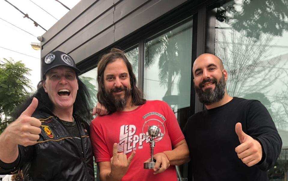 Dave Evans visitó los estudios de Radio Cantilo - Radio Cantilo