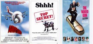 """Las mentes detrás de """"Y donde esta el piloto"""", """"Top Secret"""" y """"La pistola desnuda"""""""