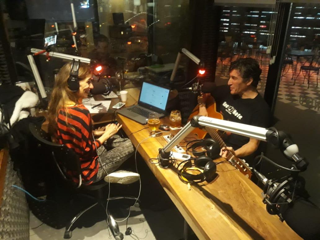 Willy Crook pasó por Radio Cantilo - Radio Cantilo