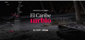 """""""El Caribe Turbio"""": los negociados y la migración en la frontera desconocida"""