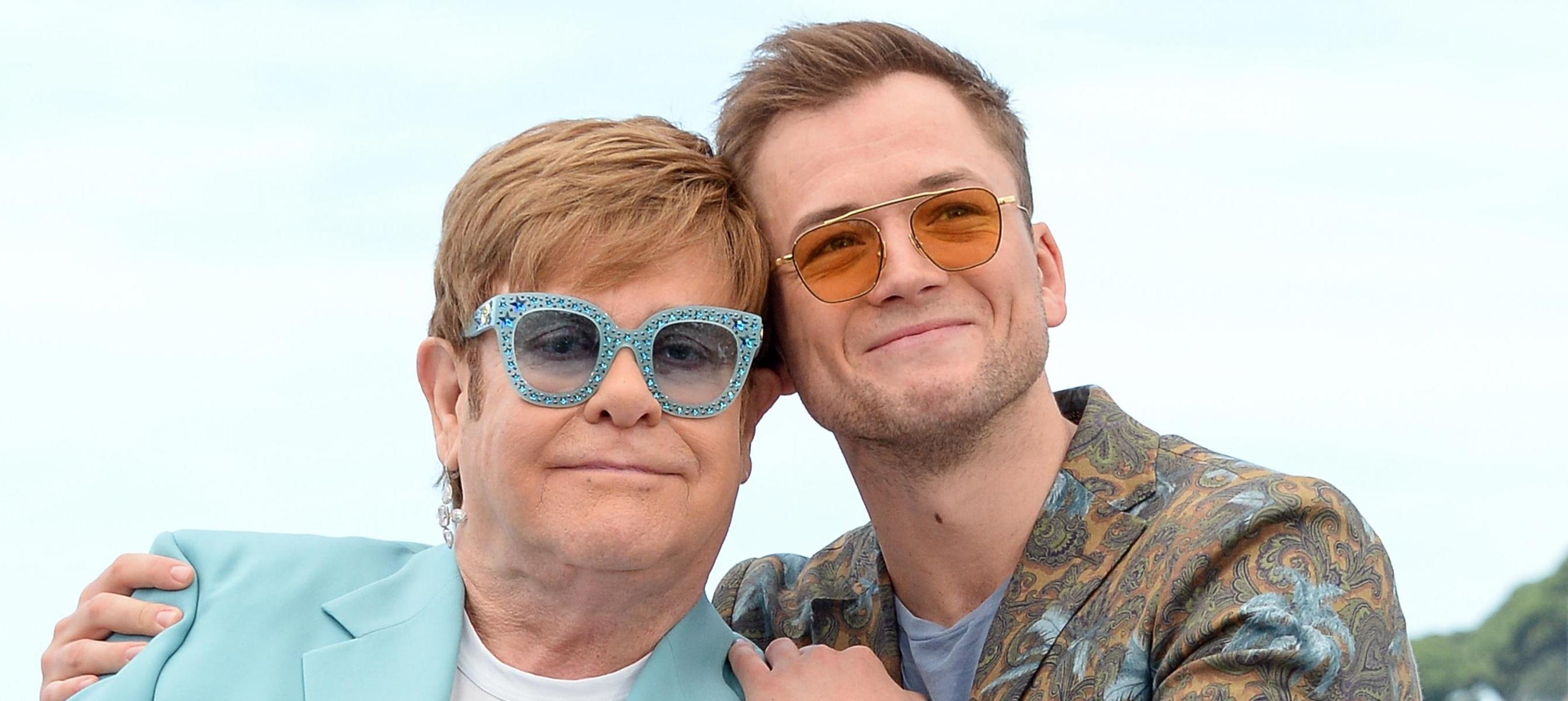 Elton John y Taron Egerton compartieron escenario - Radio Cantilo