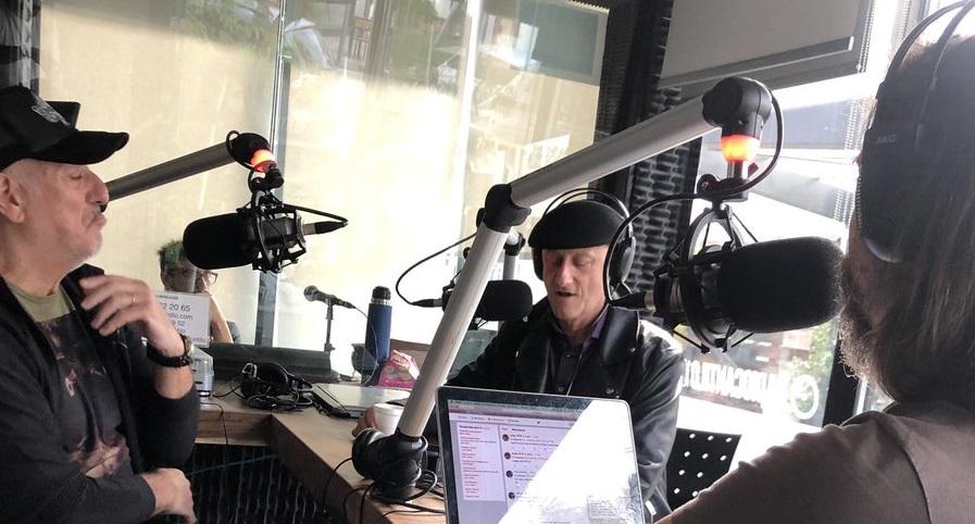 Llegó Ilegales al país y Jorge Martínez pasó por Hagan Correr La Voz - Radio Cantilo