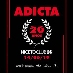 Adicta festeja sus 20 años en Niceto