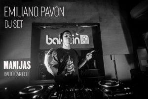Emiliano Pavon y un oscuro set