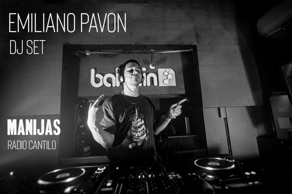 Emiliano Pavon y un oscuro set - Radio Cantilo