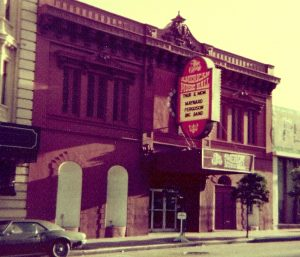 """Flyer: """"The Great Music Hall"""""""