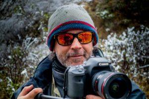 El hombre detrás de la lente que retrata la fauna argentina