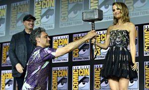 She Thor llega de la mano de Portman, y el cine con Eli Masci