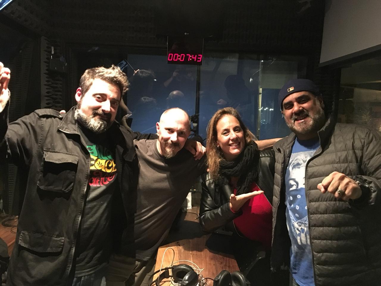 Funky Kingston y una visita acústica - Radio Cantilo