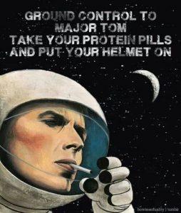 Space Oddity y el viaje a la luna