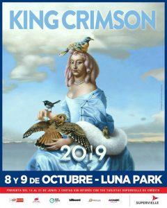 Preparate porque en octubre llega King Crimson