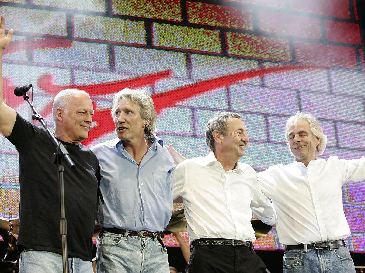 Live 8: la histórica reunión de Pink Floyd - Radio Cantilo
