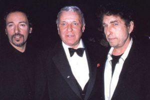 #ElijoCreer: la cena privada de Frank Sinatra, Bob Dylan y Bruce Springsteen
