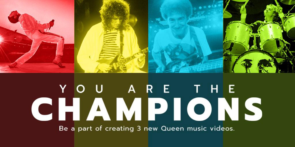 """You Are The Champions"": Queen te invita a participar de sus nuevos videoclips - Radio Cantilo"