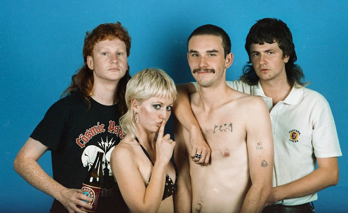 Amyl and The Sniffers: puro punk australiano - Radio Cantilo