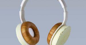Conocé cómo son los auriculares hechos de hongos y bacterias