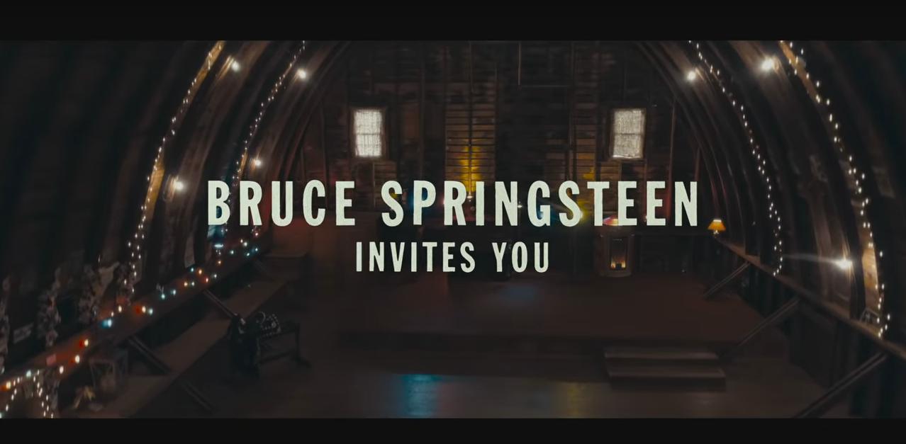 Falta menos para la salida del nuevo documental sobre Bruce Springsteen - Radio Cantilo