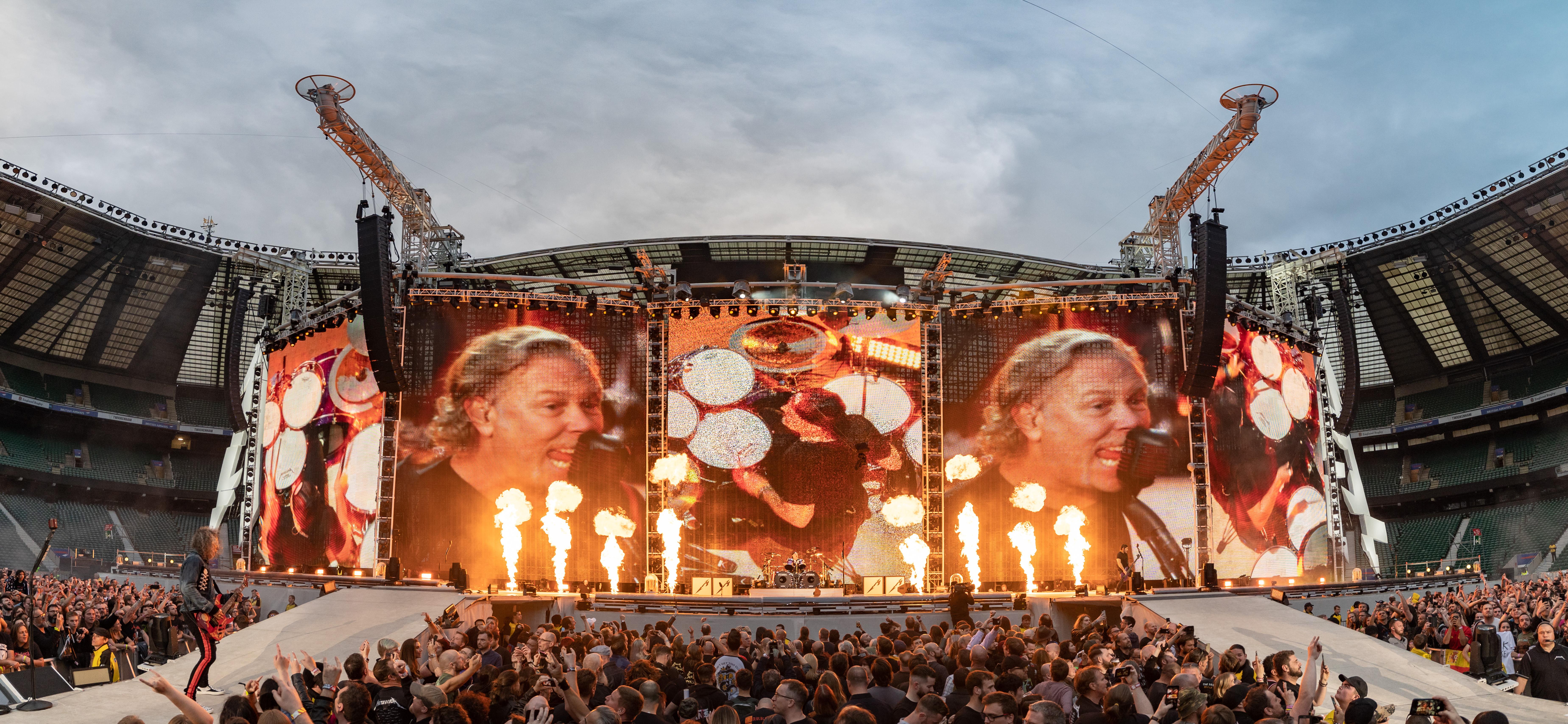¡Fecha confirmada! Metallica regresa a la Argentina el 18 de abril de 2020 - Radio Cantilo
