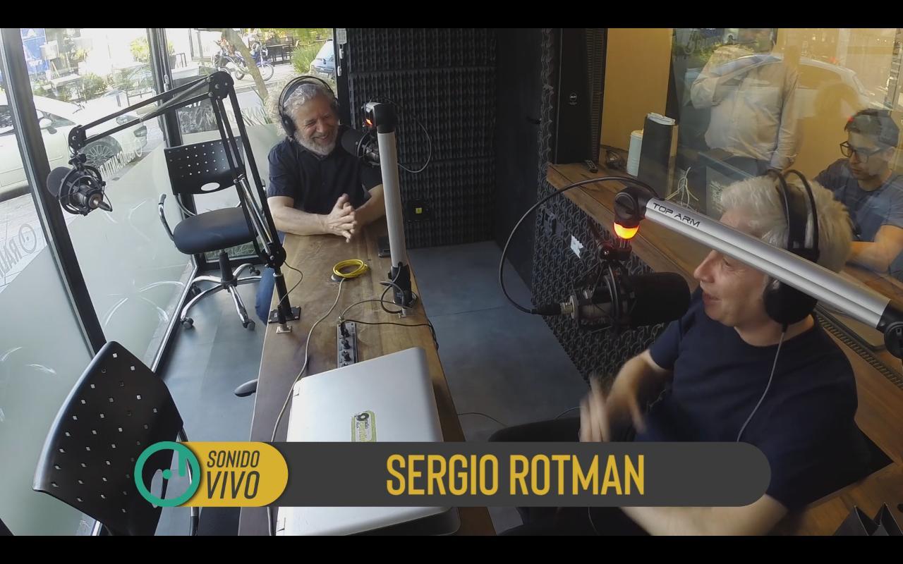 Sergio Rotman presentó su nuevo disco solista en exclusiva con Juan Di Natale - Radio Cantilo