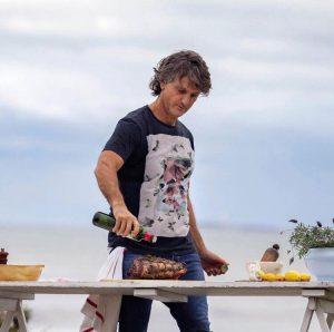 """Pablo Massey en el """"estado puro de un cocinero"""""""