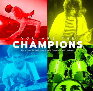 """You Are The Champions"": Queen te invita a participar de sus nuevos videoclips"