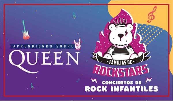 Familia de Rockstars, aprendiendo sobre Queen - Radio Cantilo