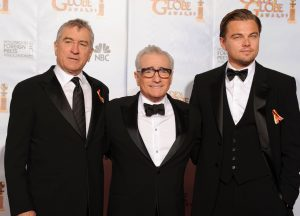 Scorsese, De Niro y DiCaprio, juntos en la misma película