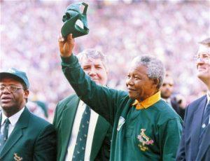 Nelson Mandela y el rugby sudafricano