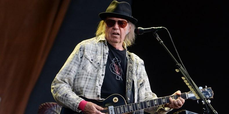 Neil Young publicó una nueva canción - Radio Cantilo