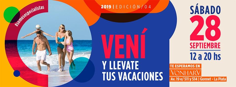 """¿Ya planeaste tus vacaciones?: Llega la """"Feria Viajar"""" - Radio Cantilo"""