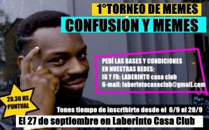 ¡Se viene el primer torneo de memes en La Plata!