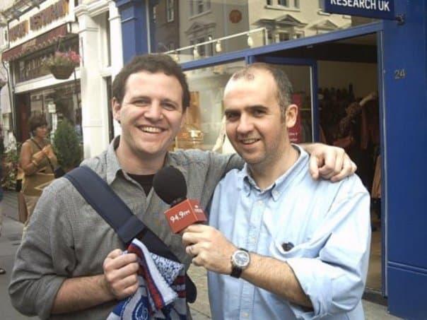 Conocé la historia de Sebastián García, el hincha argentino del QPR - Radio Cantilo