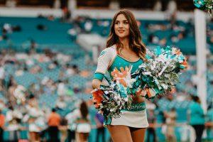 """La """"cheerleader"""" argentina que conquistó el corazón de Miami"""