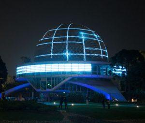 #ModoLáser, la nueva experiencia extrasensorial del Planetario