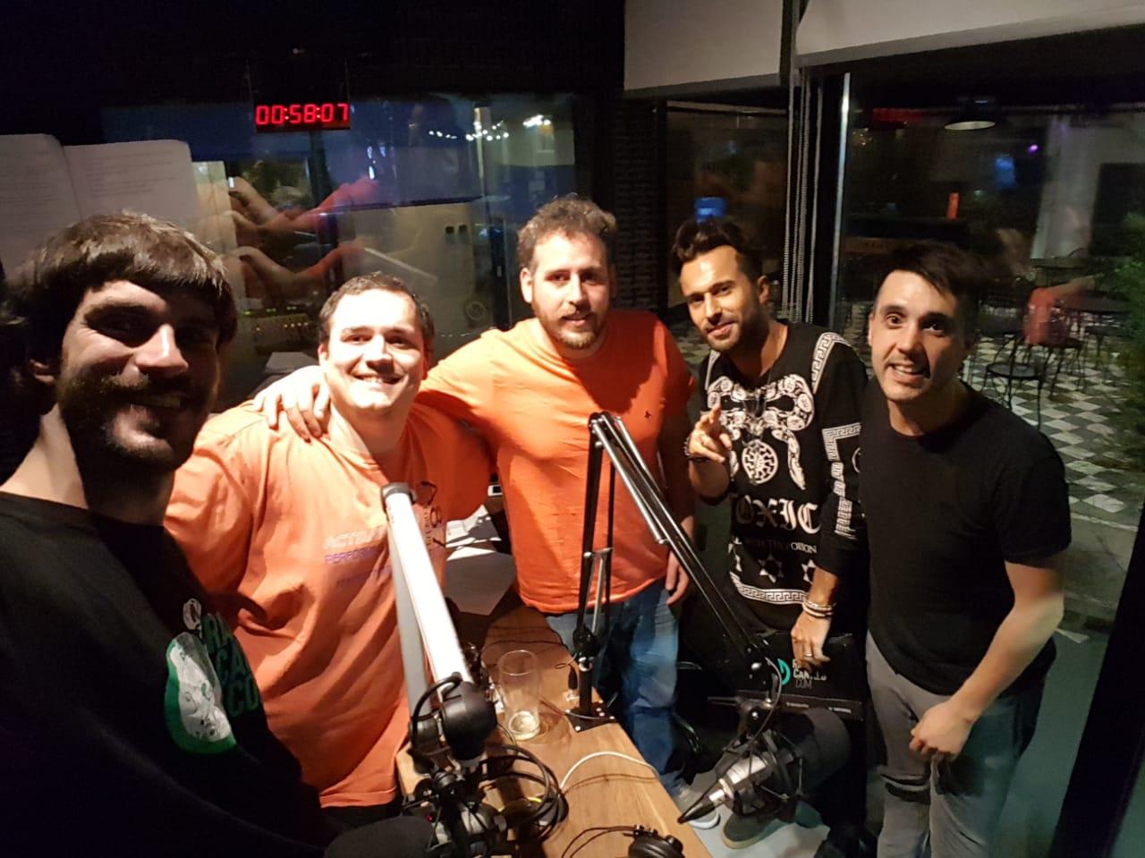 Federico Ambrosi, desde Italia a los estudios de Radio Cantilo - Radio Cantilo