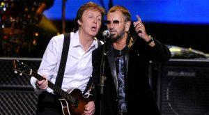 McCartney y Ringo se reúnen para homenajear a John Lennon