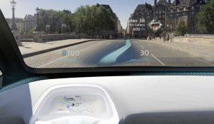 Parabrisas con realidad aumentada: El futuro del manejo