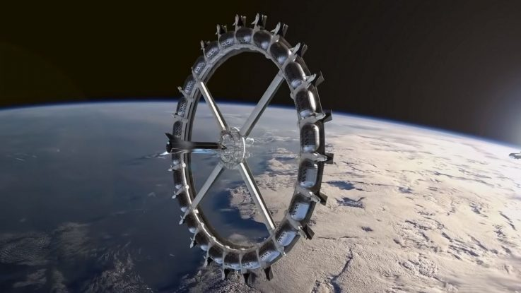 Turismo espacial: el primer hotel en órbita abrirá sus puertas en 2025 - Radio Cantilo