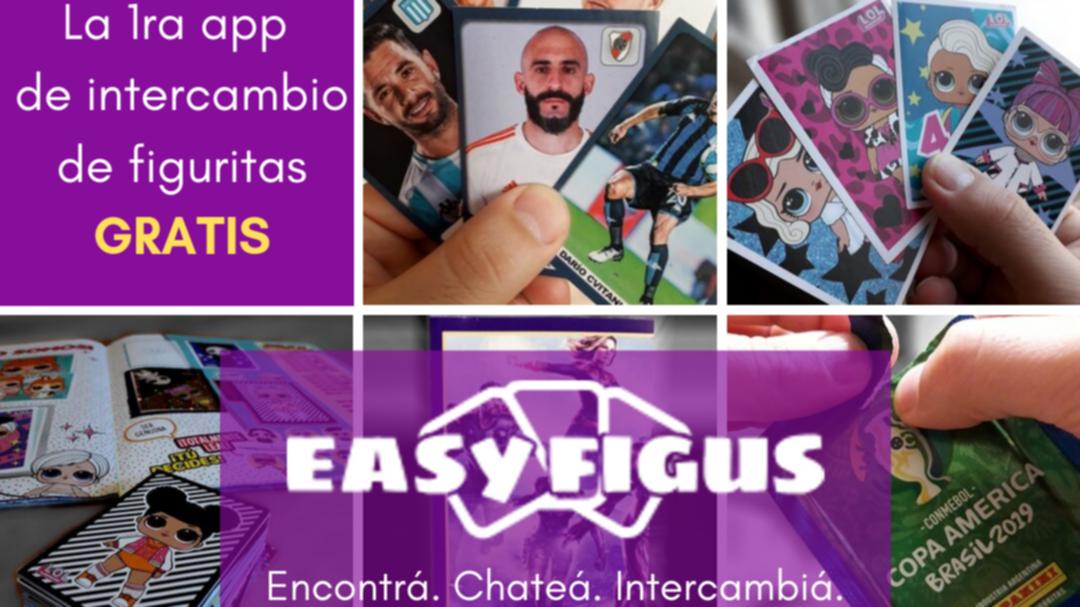 Easy Figus, la app que permite intercambiar figuritas - Radio Cantilo