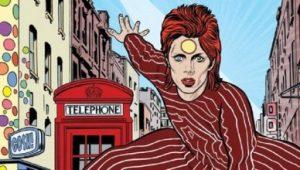 Esto es lo que se sabe sobre el cómic de David Bowie