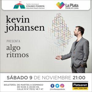 Kevin Johansen ultima detalles antes de su regreso a La Plata