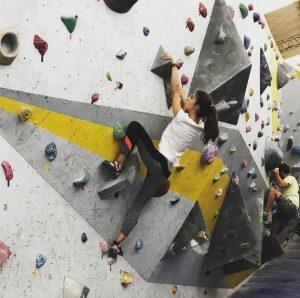 Zoé, la joven escaladora que sueña con llegar a los Juegos Olímpicos