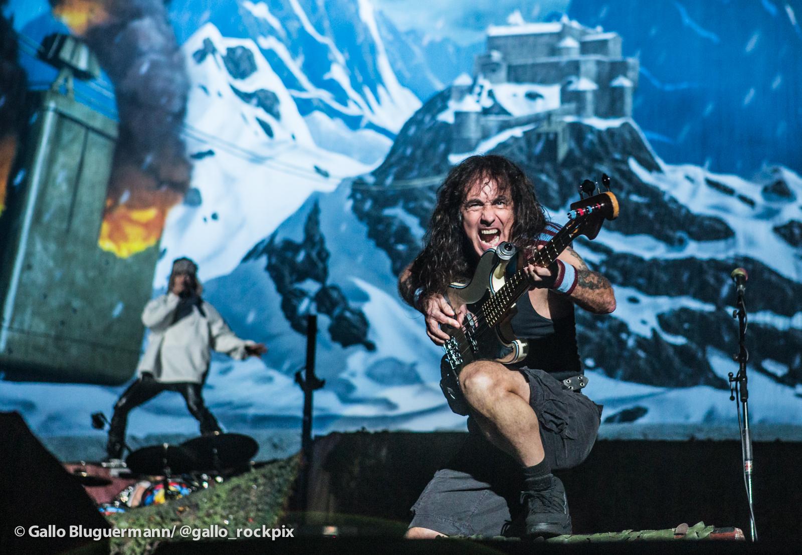 Iron Maiden explotó el estadio de Velez Sarsfield - Radio Cantilo