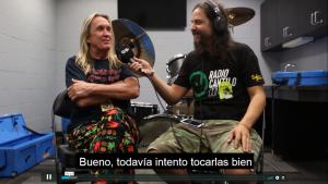 ¡Mirá la entrevista con Nicko McBrain de Iron Maiden!