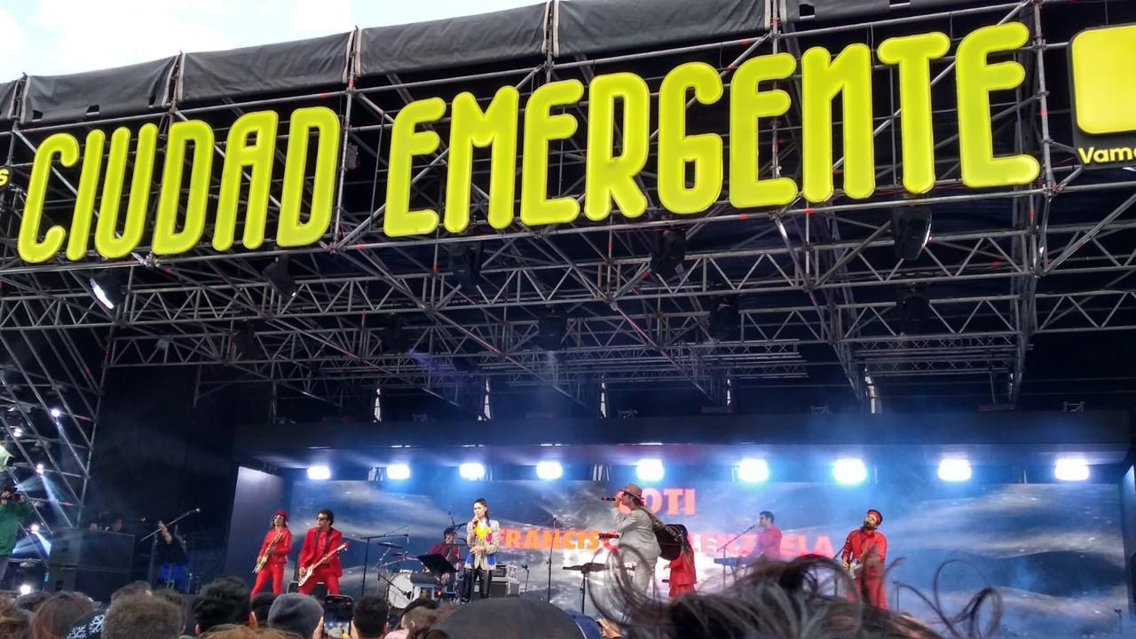 Ciudad Emergente día 1: Con Mashup de artistas consagrados arrancó la fiesta - Radio Cantilo