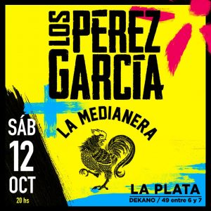 Reviví el acústico de Los Pérez García y la Medianera