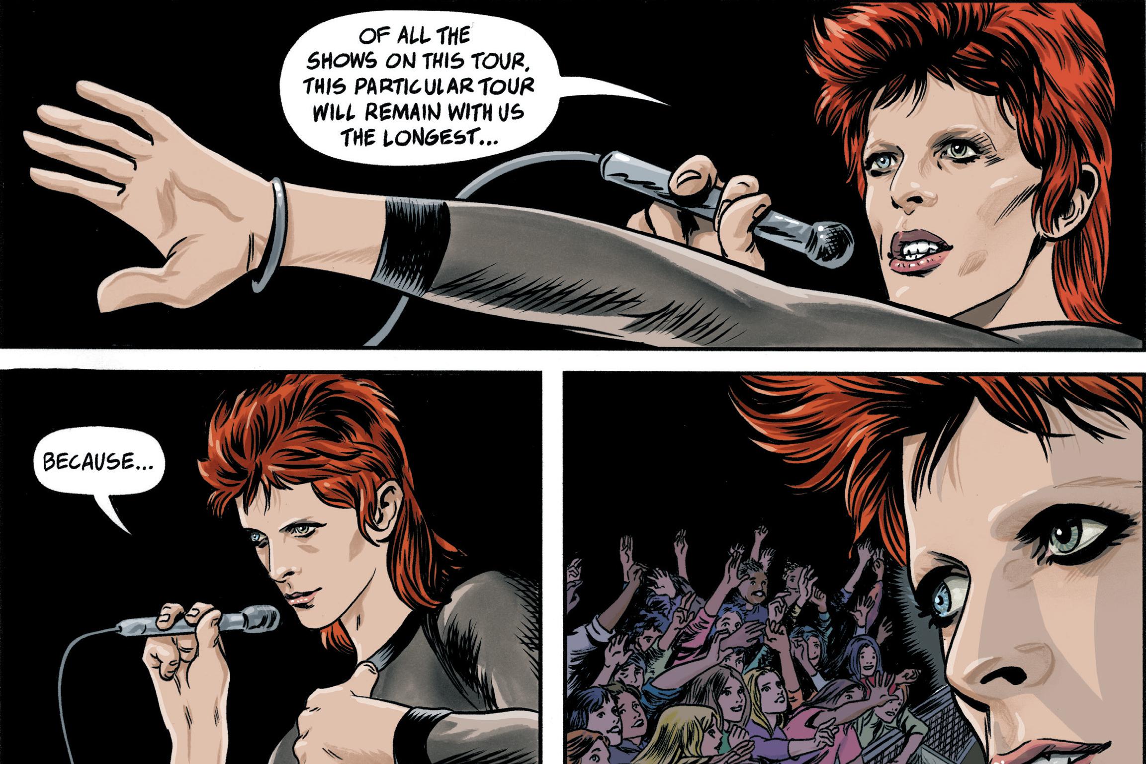 Esto es lo que se sabe sobre el cómic de David Bowie - Radio Cantilo