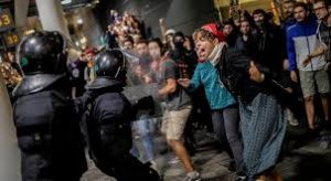 Cataluña en llamas tras un fallo sin precedentes a los líderes independentistas